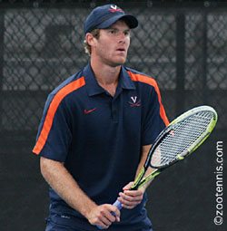 Image result for pictures of mitchell frank uva tennis